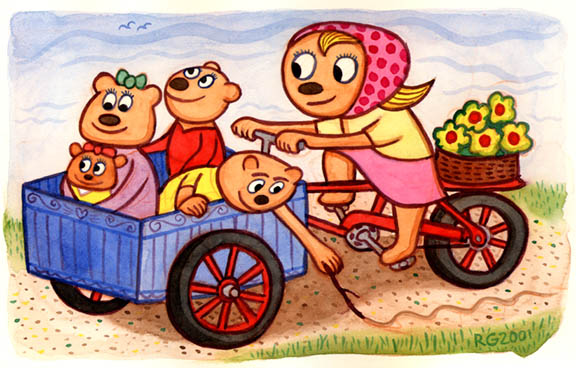 Bear Family Ride
