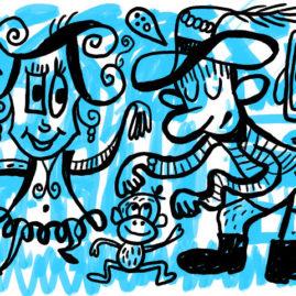Blue Square Dance