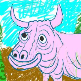Big Pink Ox