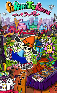 Parappa The Rapper PSP Artwork