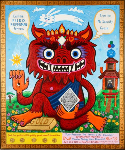 Fudo Freedman the Temple Gate Guardian