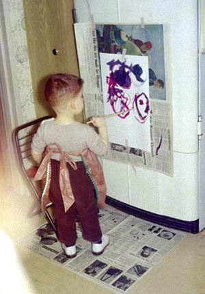 Rodney Greenblat age 3
