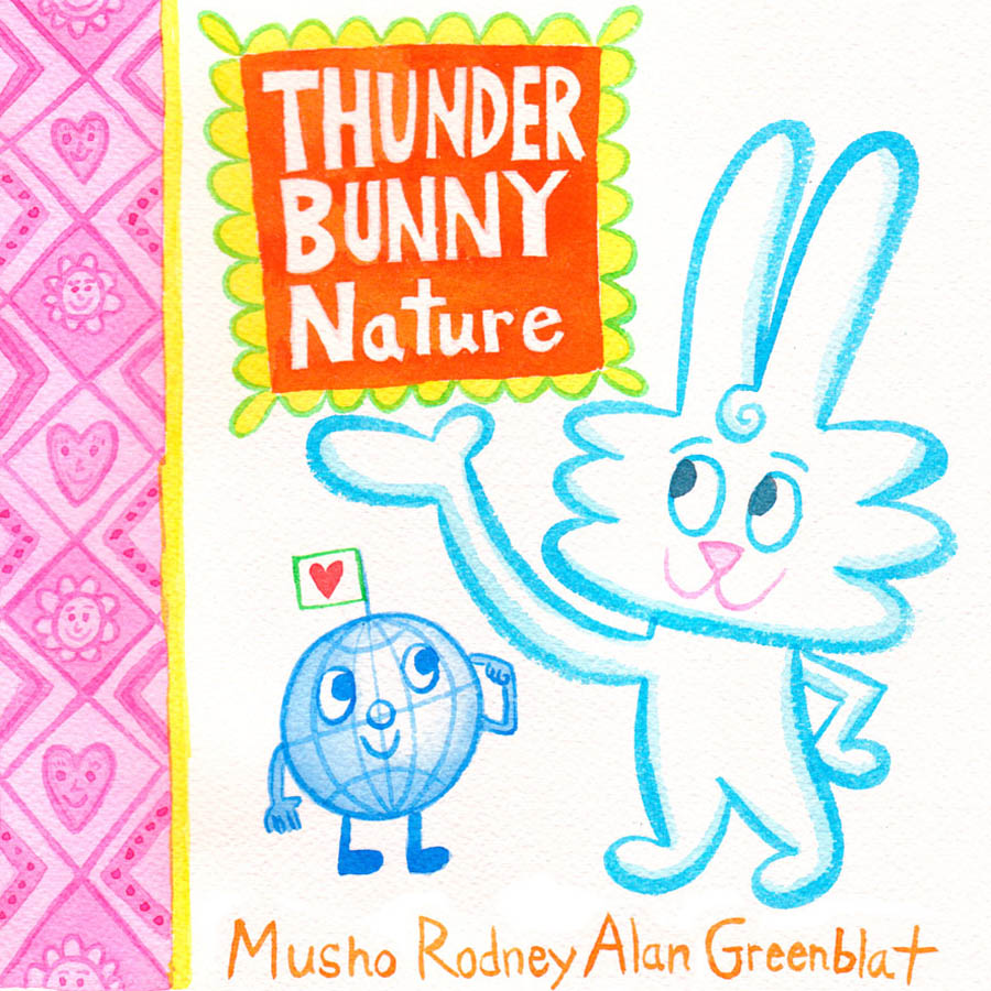 Thunder Bunny Nature book cover front