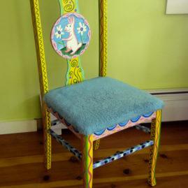 """My Dainty Chair"" 1987 by Rodney Alan Greenblat"