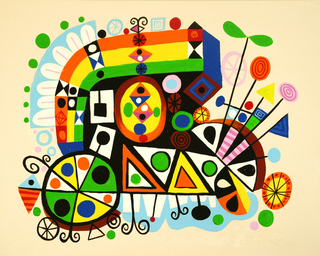 """""""Karmajam"""" print 2007 by Rodney Alan Greenblat"""