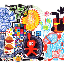 Journey With Revelation - Marker on Paper 2003