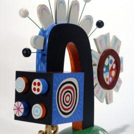 Sun Tracker - Acrylic on wood 2006