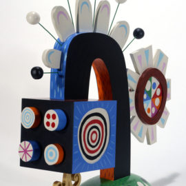 Sun Tracker - Acrylic on wood 2006